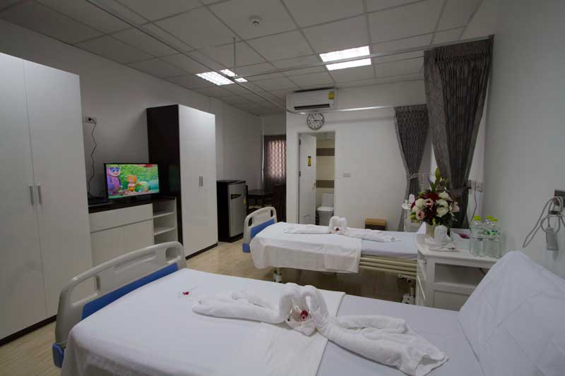First Western Hospital Koh Phangan Semi Private Room 1