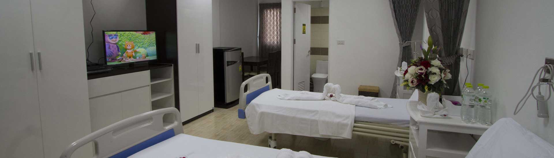 First Western Hospital Koh Phangan Clinic Semi Private Room