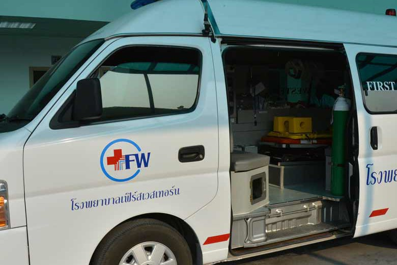 First Western Hospital And Doctord Koh Phanagn Ambulance